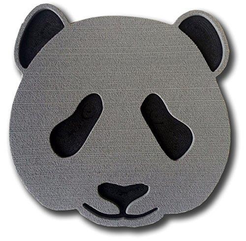 Toejamr Stomp Pad–Panda Bear Face–Grau