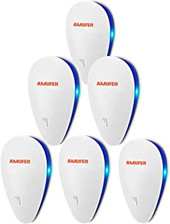 Ultrasonic Pest Repeller 6 Pack, 2020 Electronic Home Pest Control Repeller, Indoor Pest Repellent Ultrasonic Plug in for ...