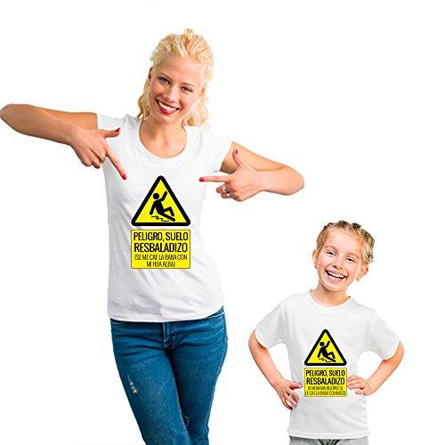 Regalo Personalizable para Madres: Pack de Camiseta para mamá + Camiseta para Hijo/a o Body para bebé