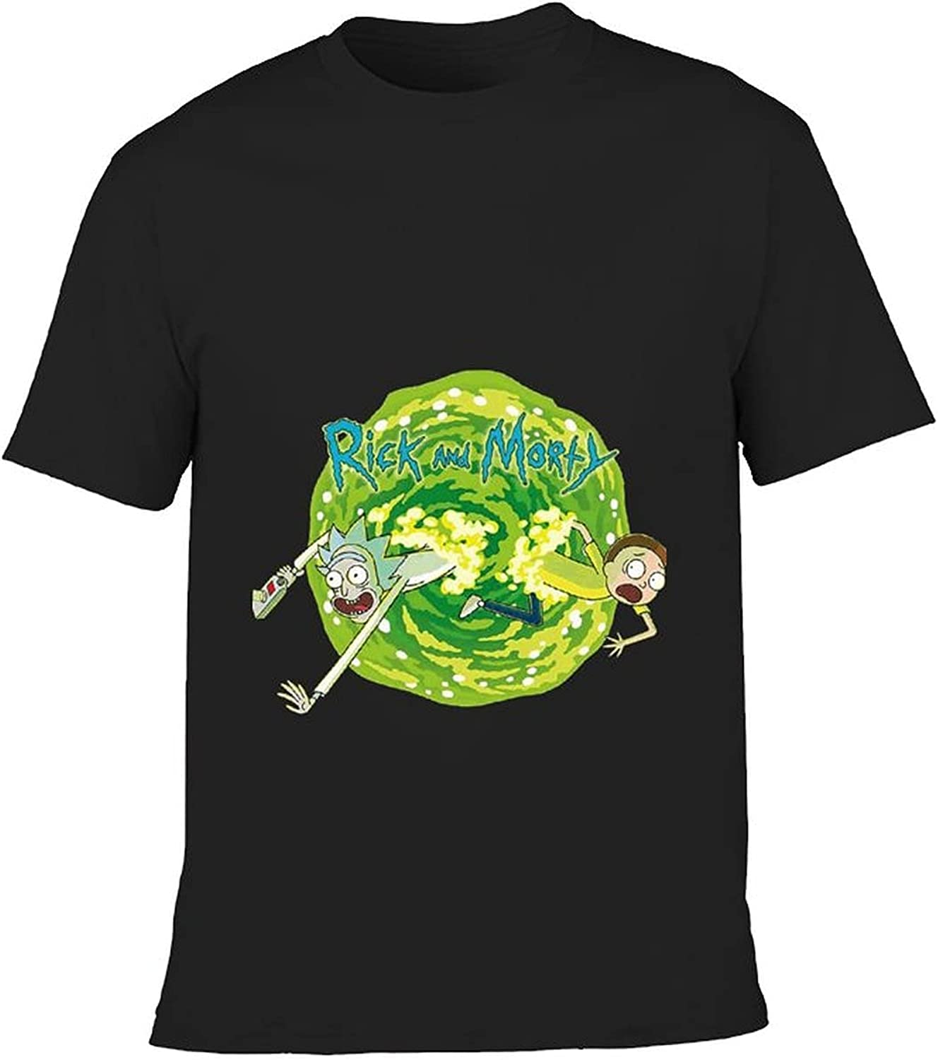 Rick and Morty Youth Short Sleeve Top T-Shirt, Boys T-Shirt