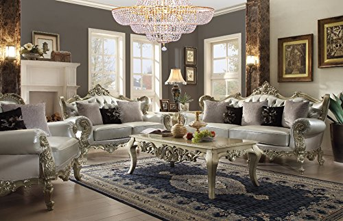 Inland Empire Furniture Nyla Formal Sofa, Love Seat and Chair