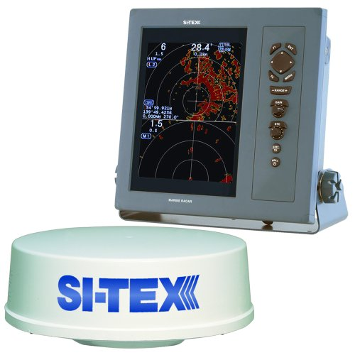 New SI-TEX T-2041 Professional Dual Range Radar w/4kW 25 Dome - 10.4 Color TFT LCD Display