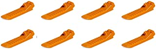 Lego Parts: #630 Classic Brick Separator (Orange, Pack of 8)