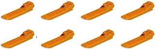 Lego Parts: #630 Classic Brick Separator (Orange, Pack of 8)