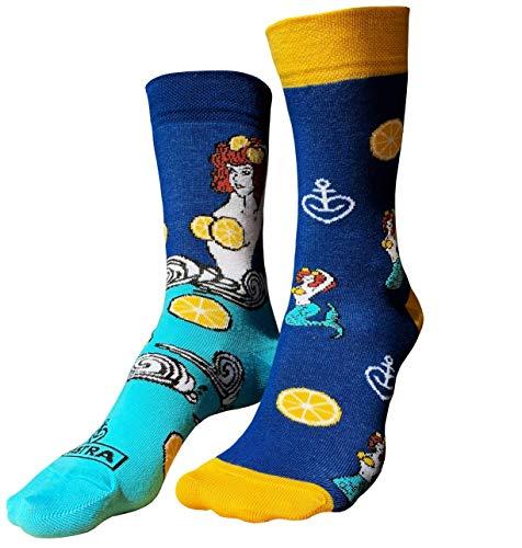 ASTRA Freizeitsocken Kiezmische, blau, für Damen und Herren, coole Socken aus St. Pauli (35-38)
