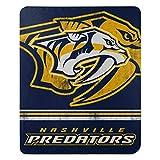 NHL Nashville Predators 'Fade Away' Fleece Throw Blanket, 50' x 60'