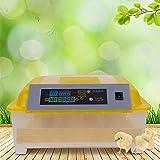GOTOTOP Completamente Automática Digital 48 Huevos Incubadoras para Pollo Ganso Pato Aves de Corral Hatcher con Bandeja de Huevos