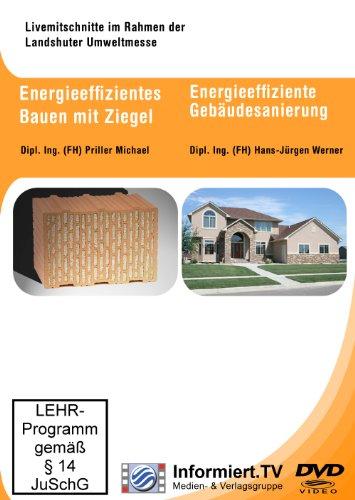 Energieeffizienz beim Bauen mit Ziegel und der Gebäudesanierung