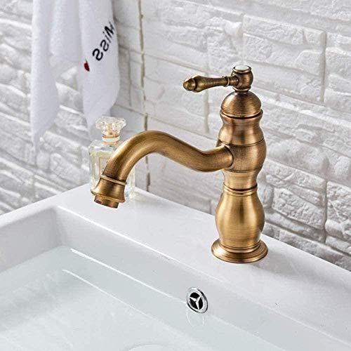 Kraan één handvat roterende uitloop wastafel wastafel geïnstalleerd in de badkamer wastafel wasbak wasmachine keuken