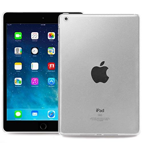 Okuli Hülle Kompatibel mit Apple iPad Mini 1, Mini 2, Mini 3 - Transparent Silikon Cover Case Schutzhülle in Klar
