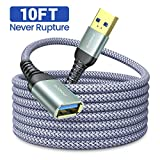 10FT USB 3.0 Extension Cable Type A Male to Female Extension Cord AINOPE High Data Transfer...