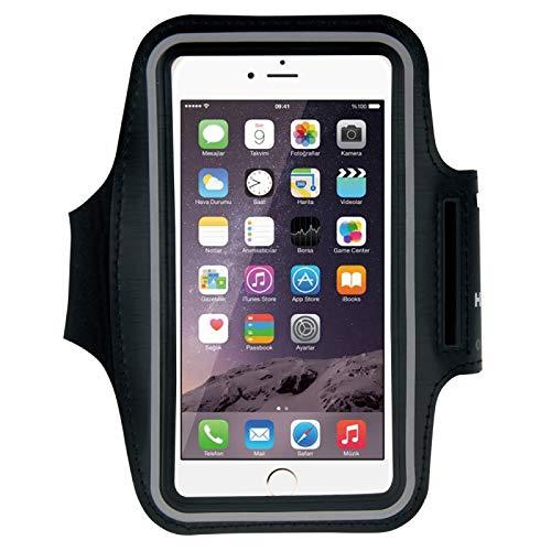 BANAZ Caja de Brazalete Deportiva con Orificio de Auriculares y Bolsillo de Llave, para iPhone XS, iPhone XS MAX, iPhone X, iPhone 8 Plus y 7 Plus, iPhone 6 Plus, Galaxy S9 + / S8 + / S6 / S5.