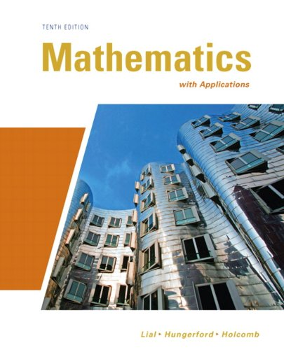 Mathematics with Applications (10th Edition)...
