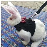 Conigli Hamster Cablaggio della Maglia con Il guinzaglio Bunny Mesh Toracica Pettorine Ferret Guinea Pig Piccoli Animali da Compagnia Accessori S M L