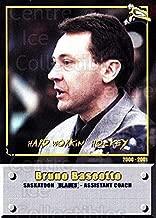 (CI) Bruno Baseotto Hockey Card 2000-01 Saskatoon Blades 4 Bruno Baseotto