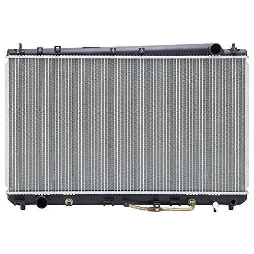 Klimoto Radiator with 1 Inch Thick Core | fits Toyota Avalon 2000-2004 3.0L V6 | Replaces TO3010102 164000A180