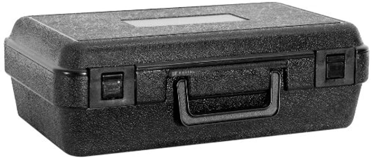 Cases By Source B1264 Blow Molded Empty Carry Case, 12.5 x 6.99 x 4, Interior