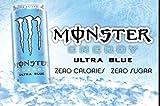 Monster Energy Ultra Blue - 16fl oz (Pack of 8)
