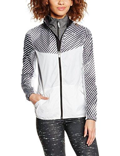 PUMA Pr Graphic Veste Coupe Vent Femme, Blanc, FR : S (Taille Fabricant : S)