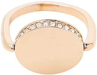 ESPRIT Womens ESRG00022218Sunset Sparkle Rose White Cubic Zirconia Stainless Steel Ring 8 mm size P (18 mm)