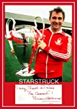 Nottingham <span class='highlight'>Forest</span> FC <span class='highlight'>Legend</span> Brian Clough with 1979 European Cup Signed (Pre-Printed) Exclusive A4 Print