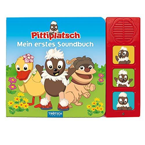 Trötsch Unser Sandmännchen Soundbuch Pittiplatsch Mein erstes Soundbuch: Beschäftigungsbuch Soundbuch Liederbuch Geräuschebuch (Soundbücher)