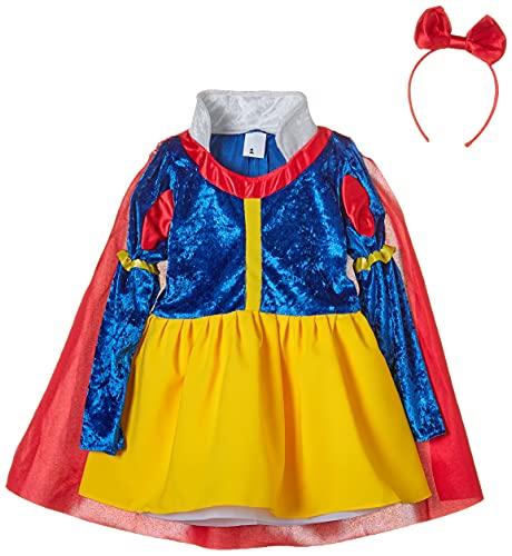 disfraz prime Disfraz Blancanieves Cuentos, Multicolor, estandar (limitsport 8421796108428)