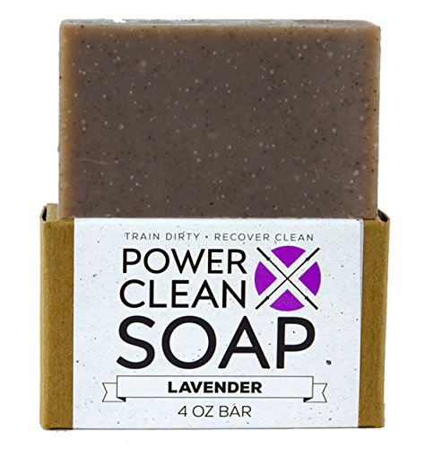 Organic Bar Soap for Athletes with Soothing Lavender...