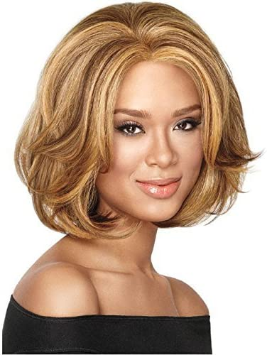 Outlet SALE Qingbaotong Wigs Women's Short Fashio with Brown Bangs Max 73% OFF