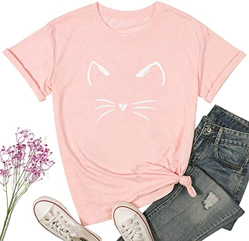 Cat face t shirts _image3