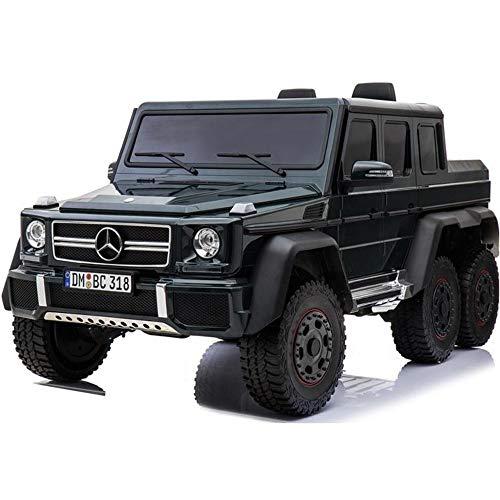 UK Lizenzierter G63 24V Fahrt auf Auto 6 Rad Jeep mit Fernbedienung - Schwarz