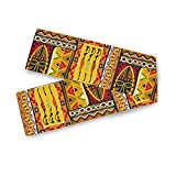 AUUXVA WXLIFE Table Runners African Women Geometric Print Table Cloth Decorative, 13'x90' Table Runner for Kitchen Holiday Wedding Dining Table Party Banquet Decor