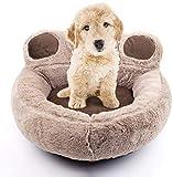 Camas para Perros Sofá Mediano Lavable para Mascotas Cama para Gatos Cojín de Canasta Suave de Lujo para Perros medianos pequeños Manta Gruesa de Lana ortopédica para Perros-S