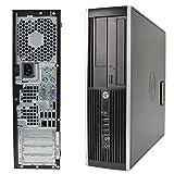 PC Computer Desktop HP Compaq 6000 PRO SFF, Windows 10 Professional, Intel Core 2 Quad, Ram 4GB...