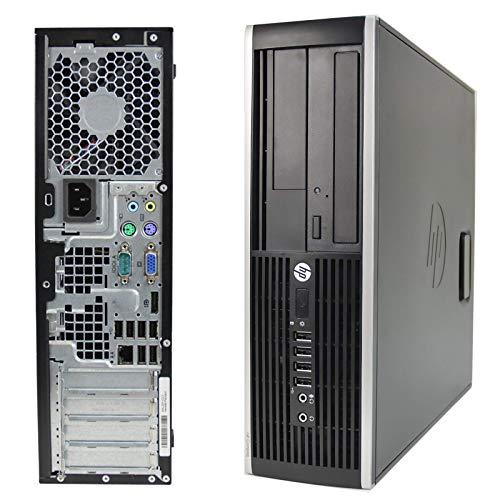 PC Computer Desktop HP Compaq 6000 PRO SFF, Windows 10 Professional Installato e Attivato, Intel Core 2 Quad, Ram 8GB DDR3, SSD 120GB, DVD-ROM, VGA Display Port (Ricondizionato)