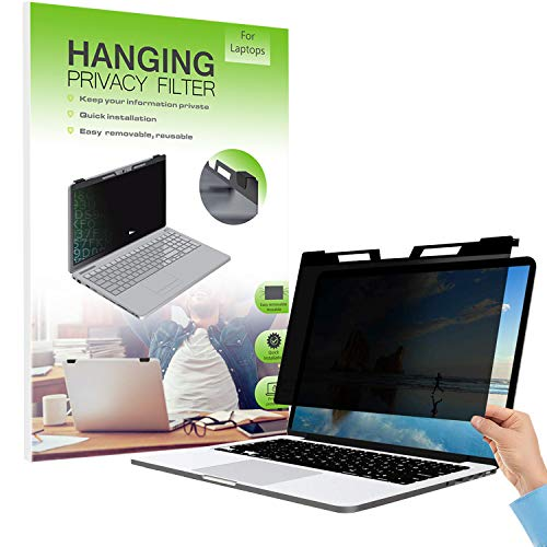 FiiMoo Hängend 14 Zoll Premium Blickschutzfilter I Blickschutz Folie I Notebook Privacy Filter- Laptop Frame Hanging Type für 14