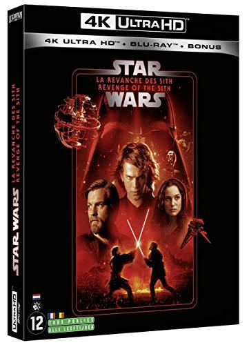 Star Wars, épisode III : La Revanche des Sith 4k UHD Bonus [Blu-Ray]