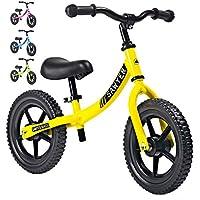 Sawyer - Bicicleta Sin Pedales Ultraligera - Niños 2, 3 y 4 Años (Amarillo)