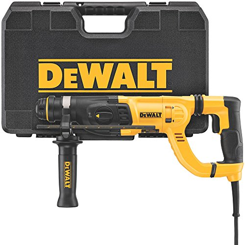 DEWALT D25262K D-Handle SDS Rotary Hammer with Shocks, 1\'