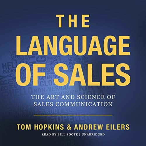 Couverture de The Language of Sales