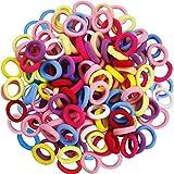100Pcs Baby Hair Ties, Toddler Hair Ties for Girls Kids, Elastic Hair Bands Ponytail Holder