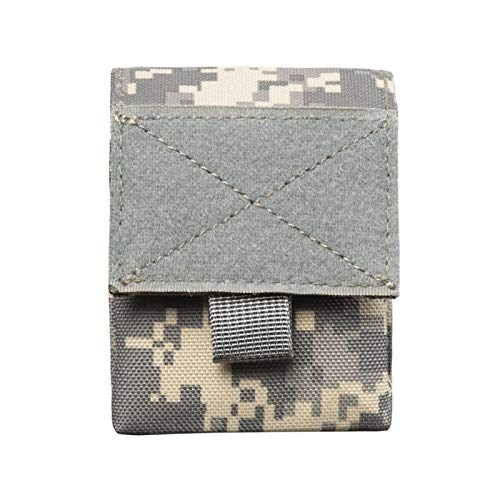 ZLDDE Durable New Military Tactical Life Sport Bag Multifunctional Tool Pouch EDC Hinge Hunting Durable Belt Pouches Packs Outdoor New Hiking Outdoors (Color : Grey gezi)