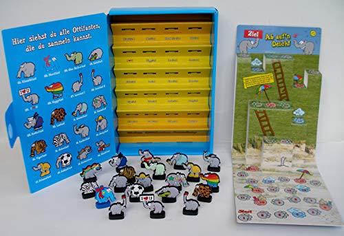 Ottifanten Komplett Set Edeka Sammelalbum Box mit Spiel und alle 20 verschiedenen Saugnapf Sammelfiguren Otto´s Limited Edition + bmg2000 Sondersticker !!…