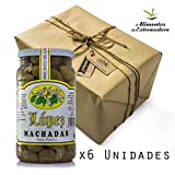 Aceitunas Machadas Extremeñas | Envío Gratis (Pack 6 Tarros 1.200g Peso Neto)