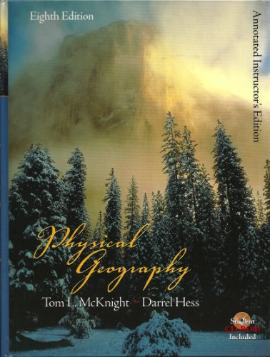Physical Geography: A Landscape Appreciation (8th Edition) (Hardcover)