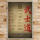 SA009 - The Seven Virtues of Bushido - Spanish - Samurai