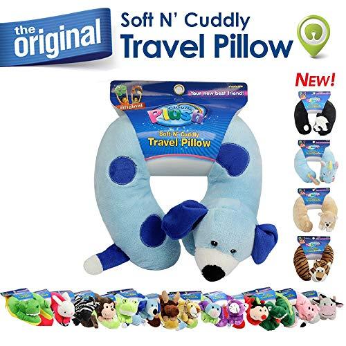 Cloudz Plush Animal Neck Pillows - Dog