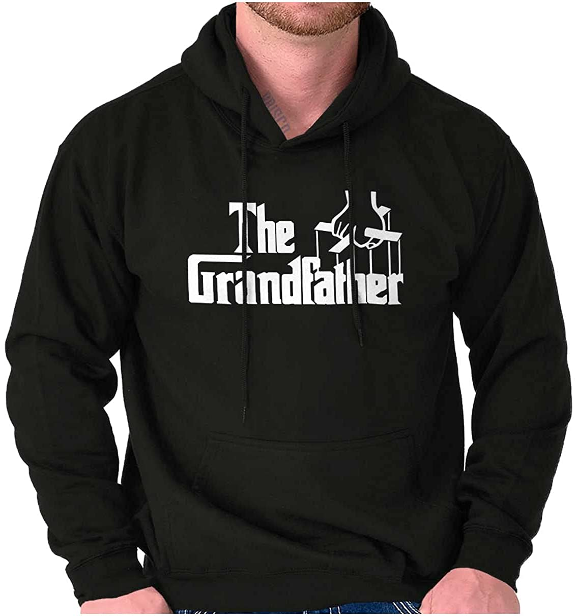Grandfather Italian Mafia Puppet Hoodie Hooded Sweatshirt Men