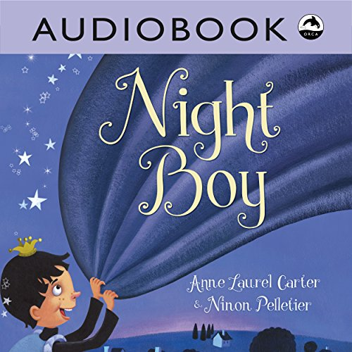 Night Boy audiobook cover art