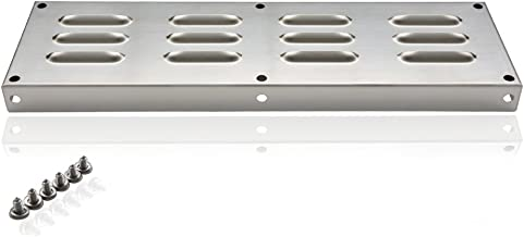 Skyflame 15-Inch by 6-1/2-Inch Venting Panel for Masonry Fire Pits and Outdoor Kitchens, Stainless Steel